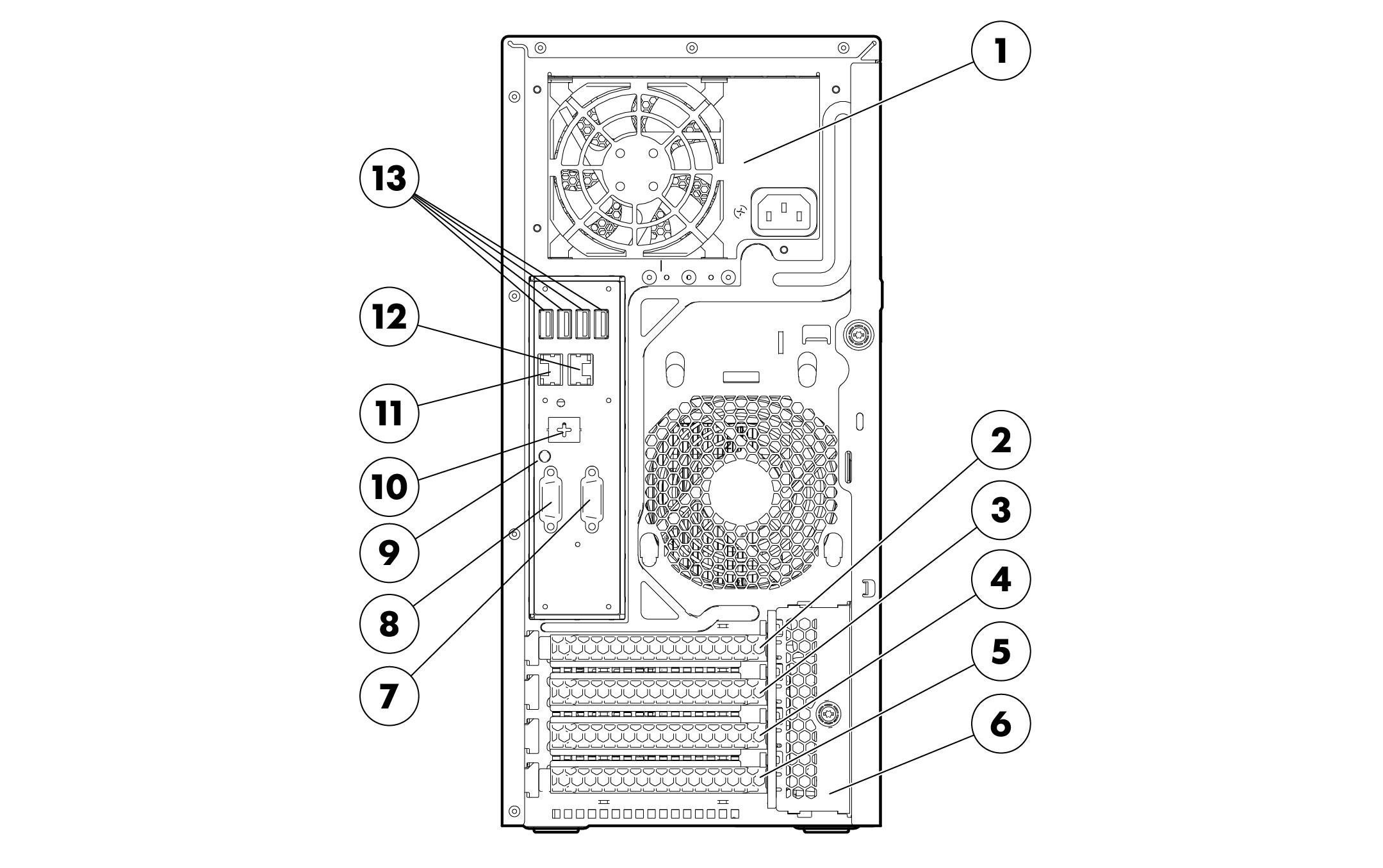 HP Proliant ML310e G8 Quickspecs